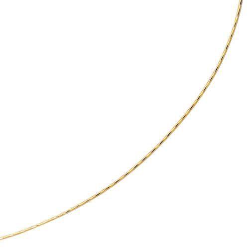 14 carats 16 de taille diamant or jaune pendentif Omega Ronde