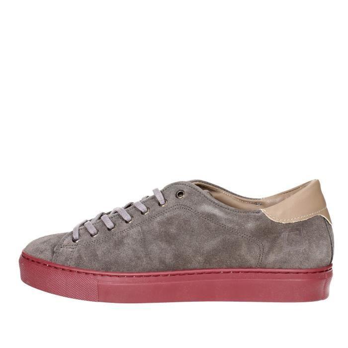 D.a.t.e. Sneakers Homme Gris, 44