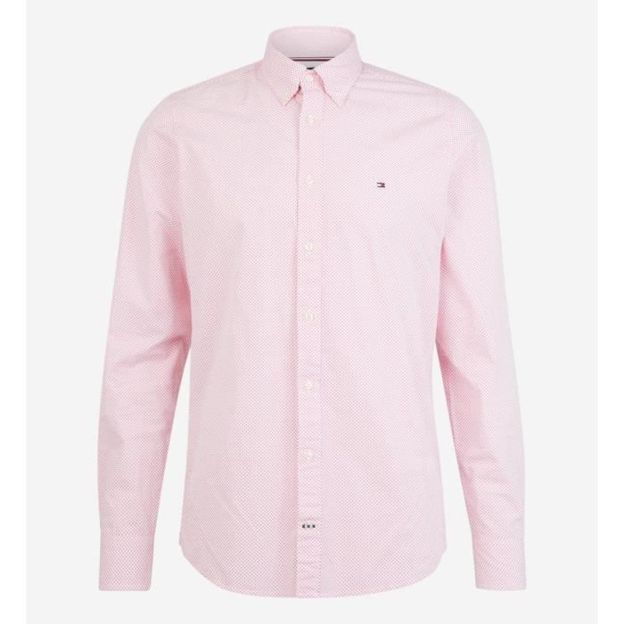 codes promo achats style roman TOMMY HILFIGER Chemise slim fit rose Rose Rose - Achat ...