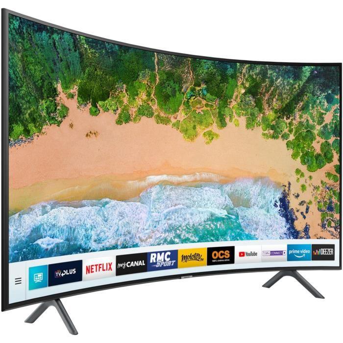 41bc61eb15dd8e Samsung UE49NU7372KXXC TV LED - 4K UHD 49  (123 cm) Ecran Incurvé ...