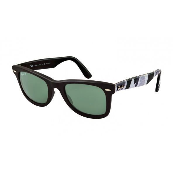 Ray-ban Original Wayfarer Urban Camouflage Rb 2… Noir - Achat   Vente  lunettes de soleil Mixte - Cdiscount 9ad581e25117