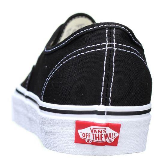 Basket Vans Authentic / Vee3blk Black Noir Noir - Achat / Authentic Vente basket 4e95fe