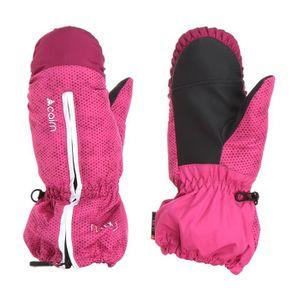 GANTS - MOUFLES DE SKI CAIRN Moufles de ski Pixies - Enfant fille - Rose 96796a14358