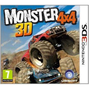 JEU NEW 3DS - 3DS XL Monster 4X4 3D Jeu 3DS
