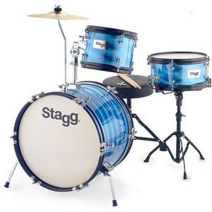 STAGG TIM JR 3/12 RD Batterie compl?te enfant - Bleu
