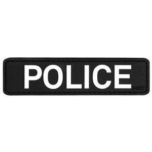 ECUSSON  ecusson Police Policier en PVC 3D et Relief 9x2,3
