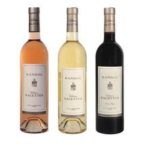 ASSORTIMENT VIN Lot Découverte de 3 Château Salettes - AOP Bandol