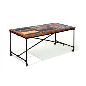 TABLE À MANGER SEULE Fabrik - Table sur roulettes