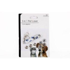 POINTEUR 5 en 1 Pet stylo pointeur laser Toy & porte-clés (