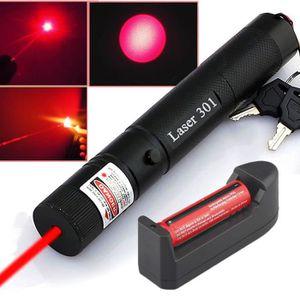 TECHNIQUE LASER 650nm 5mw 303 Pointeur Laser Rouge Lazer Pen Puiss