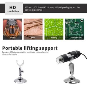 MICROSCOPE OPTIQUE Mini Microscope électronique à interface numérique