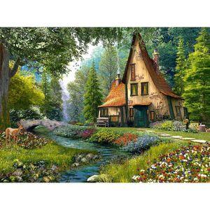 PUZZLE Puzzle 2000 pièces Dominic Davison - Toadstool Cot