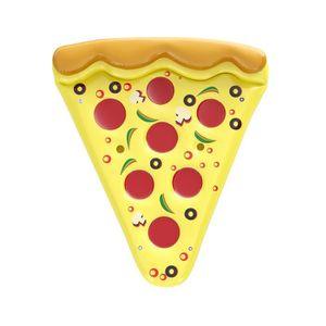 BOUÉE - BRASSARD Bouée gonflable / Matelas Adulte - Part de Pizza -