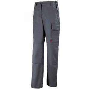 PANTALON PRO Pantalon de travail femme gris charbon