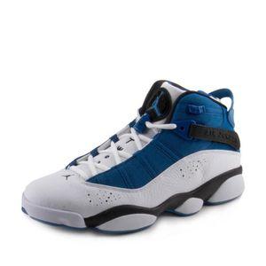 BASKET Jordan 6 Anneaux Mode Hommes-baskets 322992 B7HS3 ...