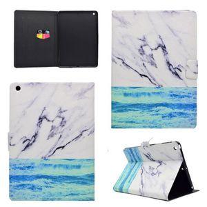HOUSSE TABLETTE TACTILE Housse Etui iPad Air - iPad 5 Cuir - océan