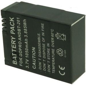 BATTERIE APPAREIL PHOTO Batterie pour GOPRO HERO3+ BLACK EDITION