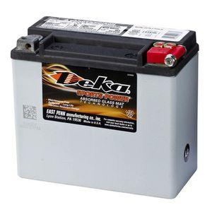 BATTERIE VÉHICULE Batterie Sports Power AGM 12 V 17,5 Ah ETX20L Deka