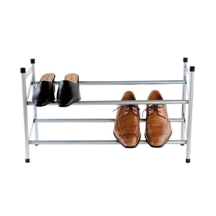 Range chaussures télescopique