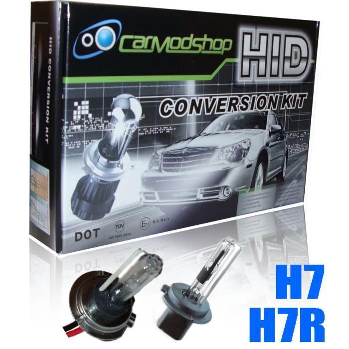 35w h7 xenon hid conversion kit set paire de pi ces de rechange slim 6000k renault. Black Bedroom Furniture Sets. Home Design Ideas