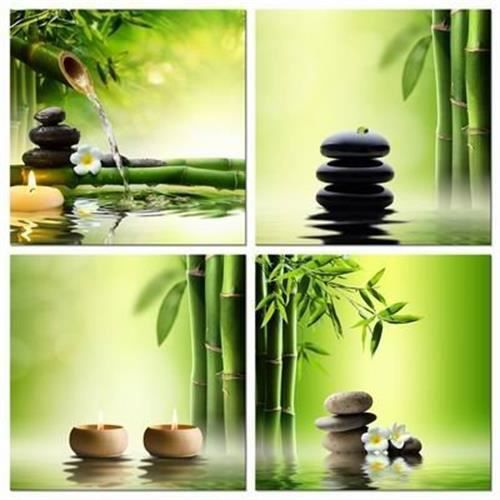 tableau deco bambou zen achat vente tableau deco bambou zen pas cher cdiscount. Black Bedroom Furniture Sets. Home Design Ideas