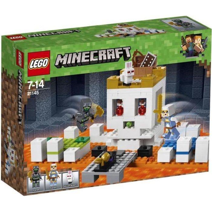 ASSEMBLAGE CONSTRUCTION LEGO® Minecraft™ 21145 Le crâne géant