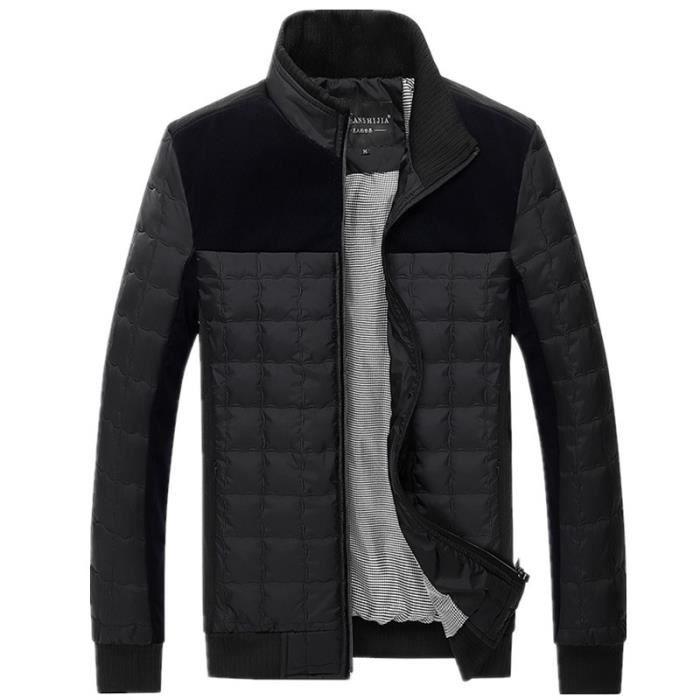 Doudoune homme de nouvelle collection d hiver 2... Noir - Achat ... 01b8a6257ed
