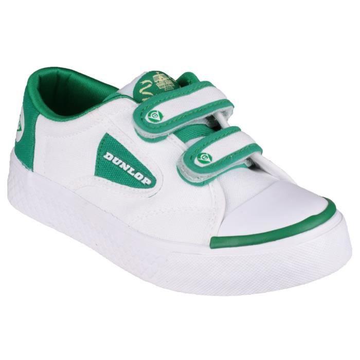Dunlop Green Flash - Baskets scratch - Garçon Vert IT30PL