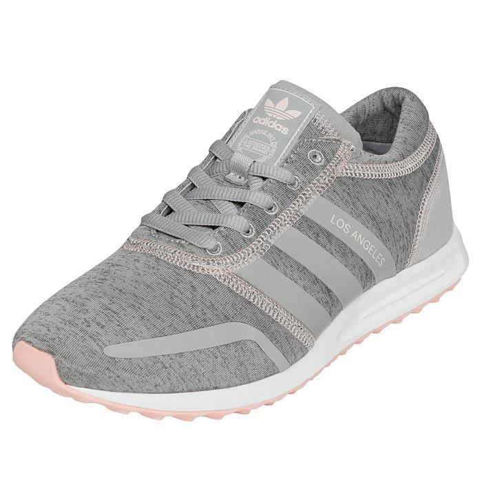new style 09fce 945b4 BASKET adidas Femme Chaussures   Baskets Los Angeles W