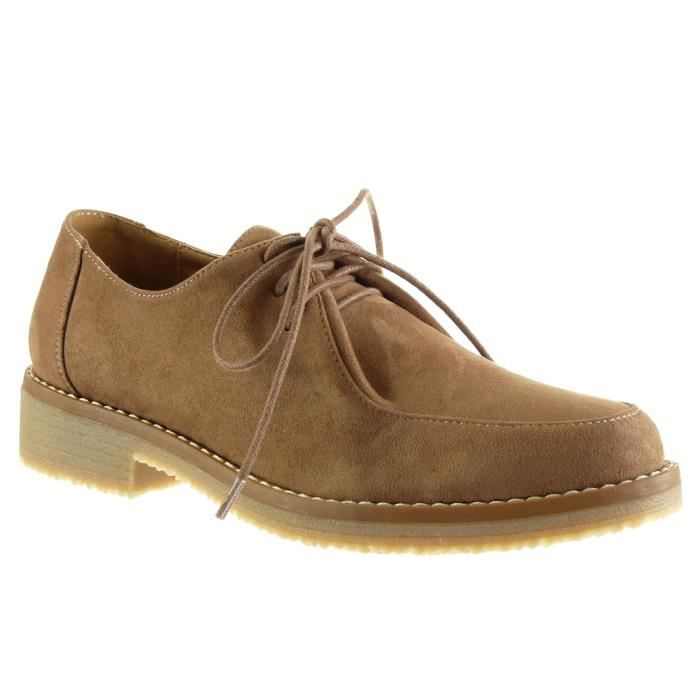 DERBY Angkorly - Chaussure Mode Derbies femme finition s