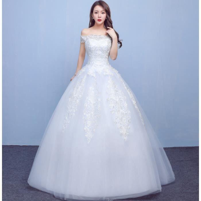 Ofeli Simple A Ligne De Robe De Mariage Princesse Romantique Banquet Robe Formelle