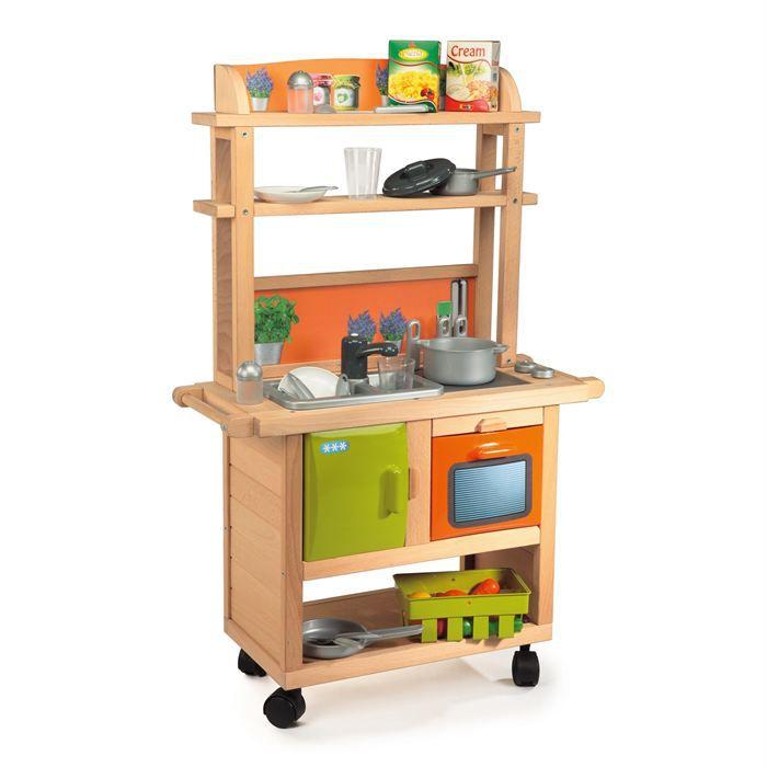 smoby cuisine enfant bois 26 accessoires achat vente dinette cuisine cdiscount. Black Bedroom Furniture Sets. Home Design Ideas