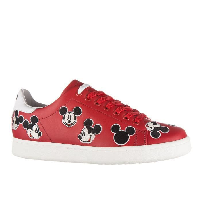Chaussures baskets sneakers femme en cuir Moa Master of Arts