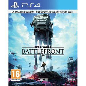 JEU PS4 Star Wars Battlefront Edition Limitée Jeu PS4