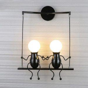 APPLIQUE  Créatif Rétro Applique Murale Lampe Murale Intérie