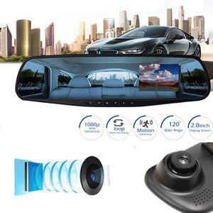 BOITE NOIRE VIDÉO Lafayestore®1080 P 2.8 pouces HD LCD voiture miroi