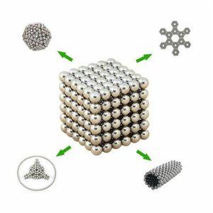 CASSE-TÊTE 216pcs 5mm Cube magique Billes Magnétiques Neocube