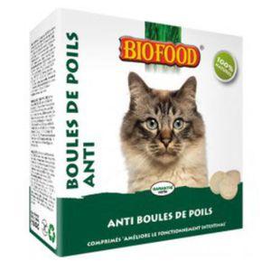ALIMENT PELLICULÉ Friandise Bio pour chat Anti Boules de Poils 100 %