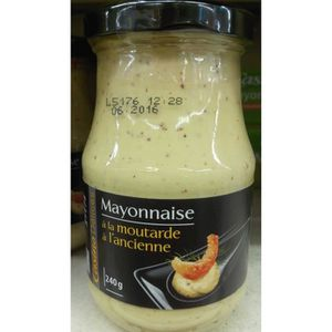 MAYONNAISE CASINO DELICES Mayonaise à l'ancienne - 240g