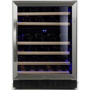 CAVE À VIN Cave à vin de service - 2 temp. - 46 bouteilles -