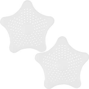 BOUCHON ÉVIER TRIXES Paire de Filtres Siphons Pièges Blancs en S