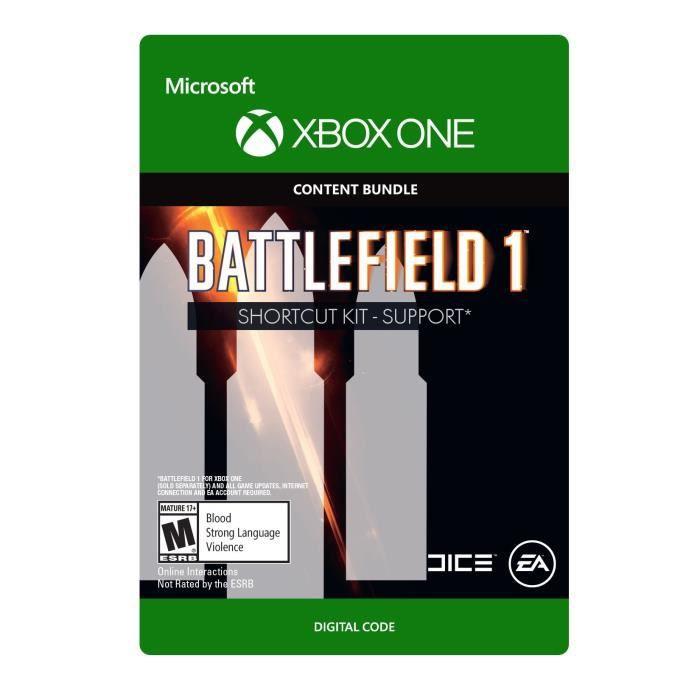 DLC Battlefield 1: Shortcut Kit -  Support Bundle pour Xbox One