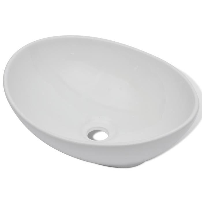 LAVABO - VASQUE Magnifique Luxueuse Vasque a poser en ceramique Ov