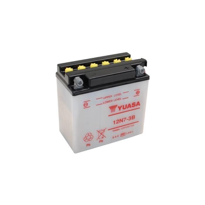 batterie moto 12v / 7ah 12n7-3b