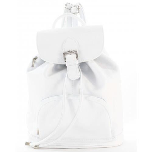 meilleur site web 1f7ca 3bec2 Sac à Dos Femme (Blanc - TU) Blanc - Achat / Vente sac à dos ...