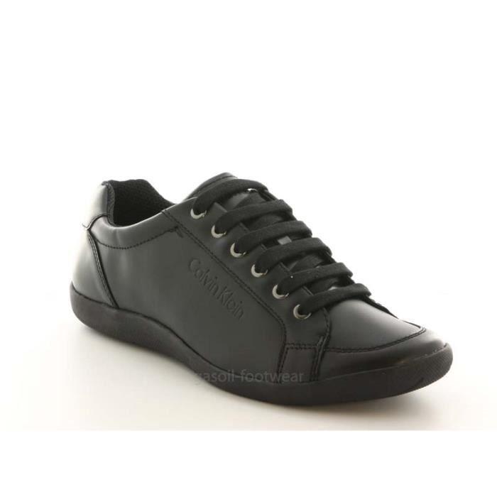 Calvin Klein Paco box calf black... hZ2FOGLs