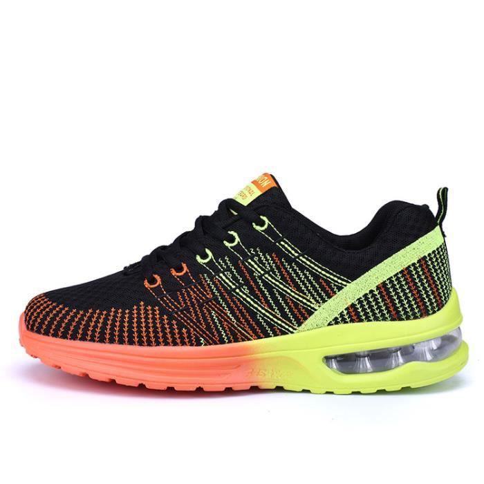 Sneakers Hommes Course Chaussures Sport Chaussures De Pour Baskets De AthléTique Gym Sports Fitness wxqtFF47