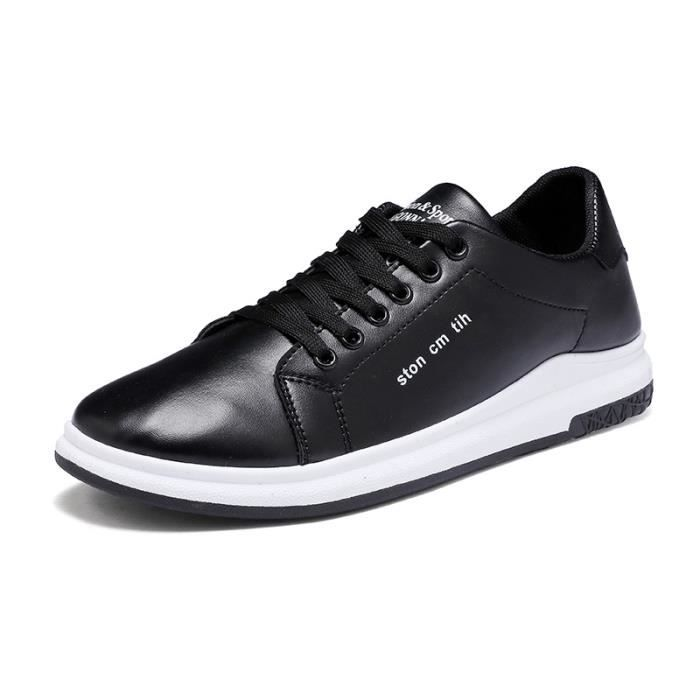 Chaussures JOZSI ville Confortable mode Hommes Homme ZX chaussure Cuir XZ192Noir39 de 7U4xU1Zqpw