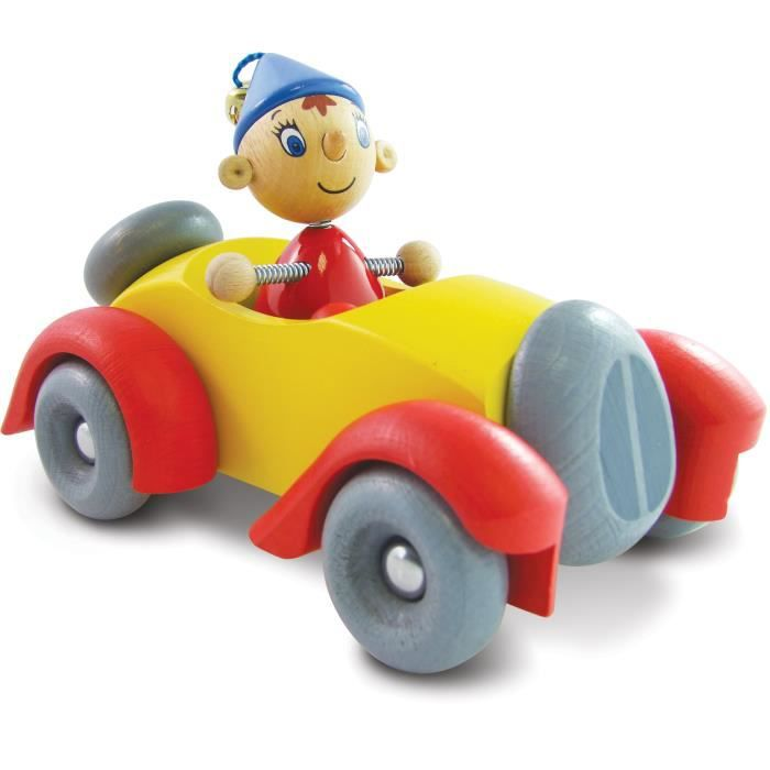 petite voiture en bois avec personnage articul oui oui paul achat vente voiture enfant. Black Bedroom Furniture Sets. Home Design Ideas
