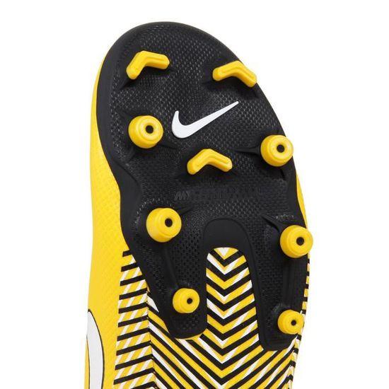 sports shoes b178b 0db66 NIKE Chaussures Vapor 12 Academy NJR MG - Homme - Jaune Jaune - Achat /  Vente chaussures de football - Cdiscount